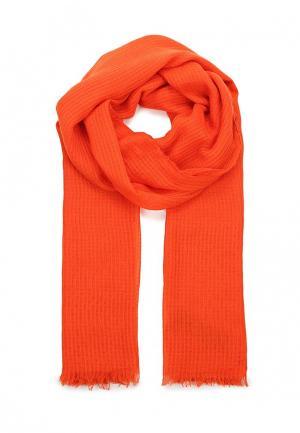 Палантин Mango. Цвет: оранжевый