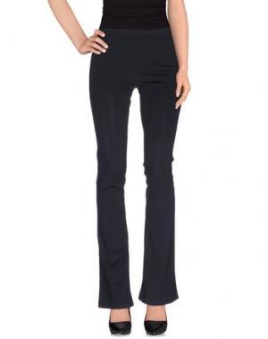 Повседневные брюки POIS. Цвет: темно-синий
