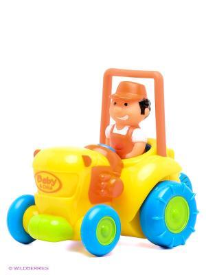 Машинка Globo. Цвет: желтый, оранжевый