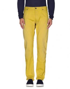 Джинсовые брюки REPLAY ONE OFF. Цвет: желтый