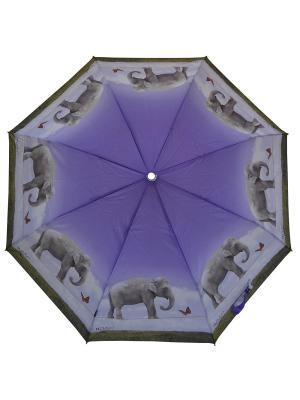 Зонты H.DUE.O. Цвет: серый, сиреневый