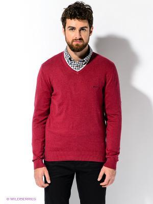 Пуловер ARROW. Цвет: бордовый