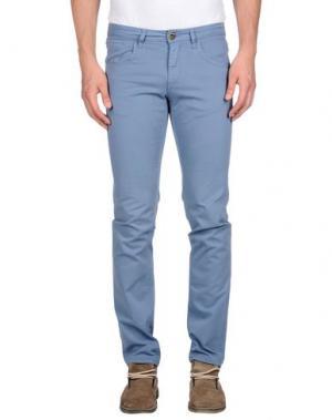 Повседневные брюки IT'S MET. Цвет: пастельно-синий