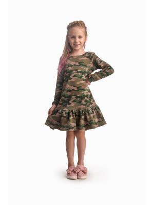 Платье Милитари L&K
