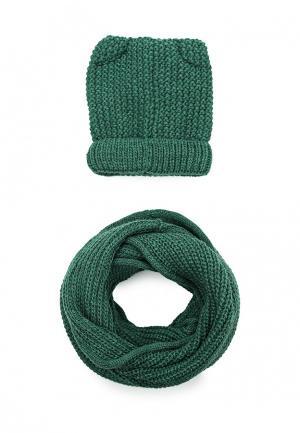 Комплект Fete. Цвет: зеленый