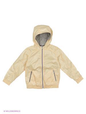 Куртка Sisley Young. Цвет: персиковый, кремовый, бледно-розовый