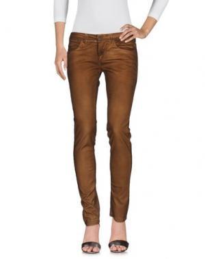 Джинсовые брюки MANILA GRACE DENIM. Цвет: хаки