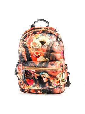 Рюкзак GREZZO. Цвет: оранжевый