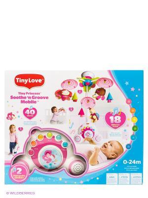Многофункциональный мобиль БУМ-БОКС серия МОЯ ПРИНЦЕССА Tiny Love. Цвет: белый, розовый