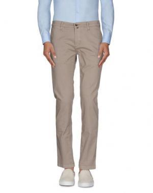 Повседневные брюки BRIGLIA 1949. Цвет: хаки