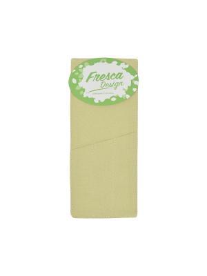 Чехол для столовых приборов english rose,6 шт. Fresca Design. Цвет: зеленый