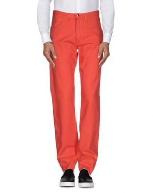 Повседневные брюки GERANI. Цвет: коралловый