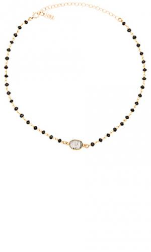 Чокер buried treasure Natalie B Jewelry. Цвет: металлический золотой
