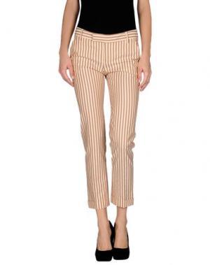 Повседневные брюки FABRIZIO LENZI. Цвет: коричневый