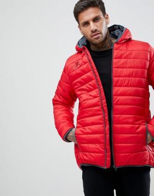 Kappa Спортивная куртка на молнии Bacrio. Цвет: красный