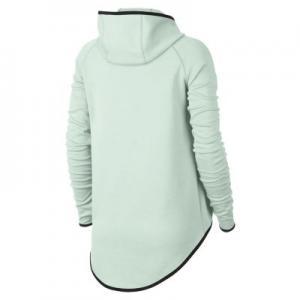Женский кейп с молнией во всю длину  Sportswear Tech Fleece Nike. Цвет: зеленый