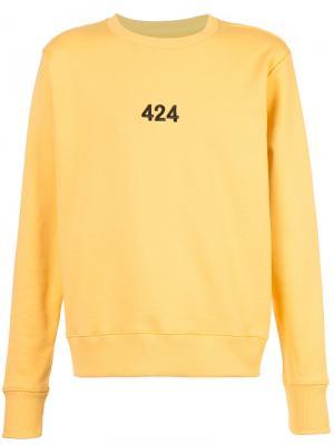 Толстовка Alias 424 Fairfax. Цвет: жёлтый и оранжевый