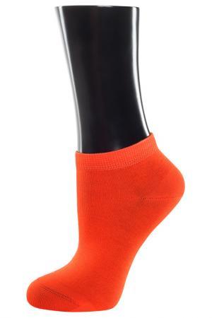 Носки TELLER. Цвет: оранжевый