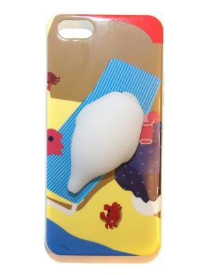 Чехол для Iphone 5/5s Lola. Цвет: синий