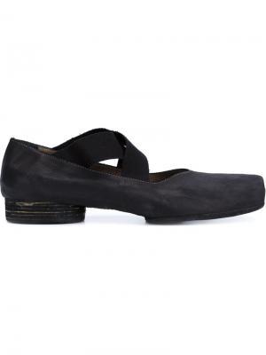 Балетные туфли Uma Wang. Цвет: чёрный
