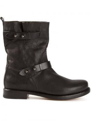 Байкерские ботинки Rag & Bone. Цвет: чёрный