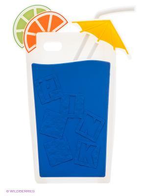 Чехол для iPhone 5/5s WB. Цвет: синий, белый