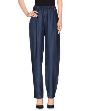 Повседневные брюки SCHIESSER. Цвет: темно-синий