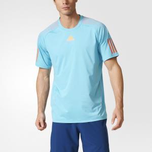 Рубашка с коротким рукавом BARRICADE TEE  Performance adidas. Цвет: оранжевый