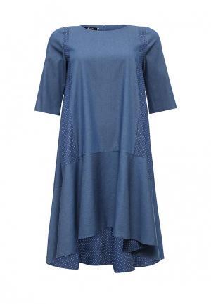 Платье Aelite. Цвет: синий