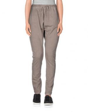 Повседневные брюки RISSKIO. Цвет: голубиный серый
