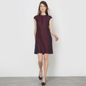 Платье жаккардовое MADEMOISELLE R. Цвет: набивной рисунок