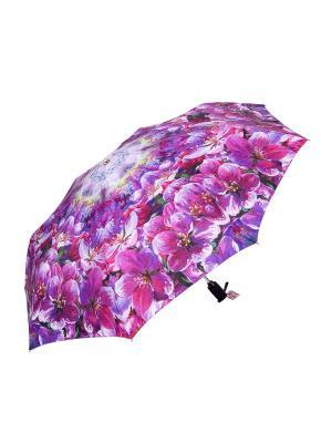 Зонт Slava Zaitsev. Цвет: фиолетовый, сиреневый
