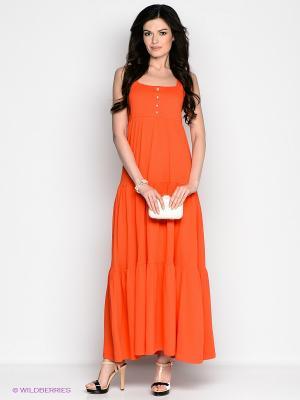 Сарафан Vis-a-vis. Цвет: оранжевый
