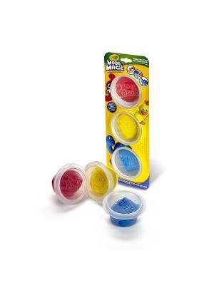 Волшебный пластилин Crayola. Цвет: желтый
