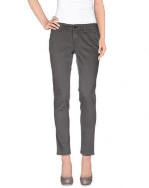 Повседневные брюки S.O.S by ORZA STUDIO. Цвет: серый