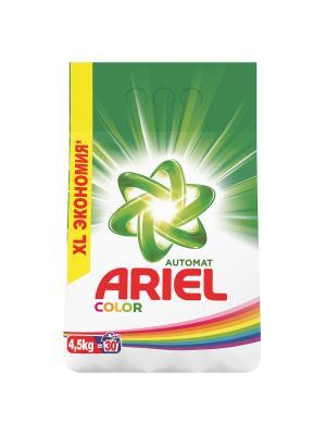 Стиральный порошок Color & Style 4.5 кг Ariel. Цвет: белый, зеленый