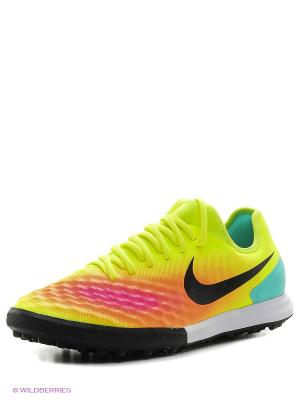 Шиповки MAGISTAX FINALE II TF Nike. Цвет: желтый, черный
