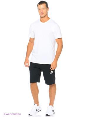 Шорты M NSW AV15 SHORT FLC Nike. Цвет: черный, белый