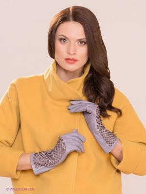 Перчатки Michel Katana. Цвет: сиреневый, коричневый