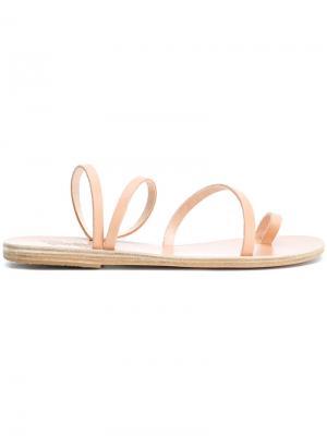 Сандалии Aplie Left the Ria Ancient Greek Sandals. Цвет: телесный