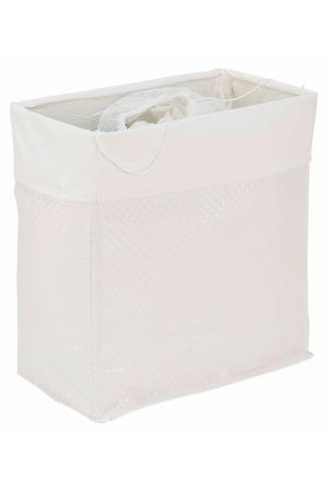 Корзина для белья 54x30x52 Bizzotto. Цвет: белый