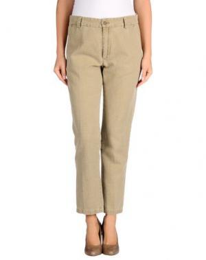 Повседневные брюки LOCAL APPAREL. Цвет: хаки