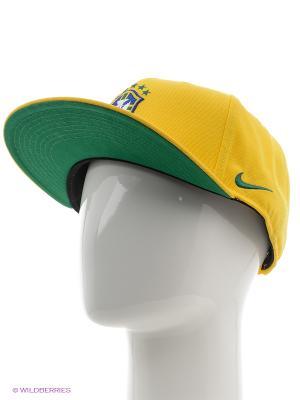 Кепка CBF U NK TRUE CAP CORE Nike. Цвет: желтый