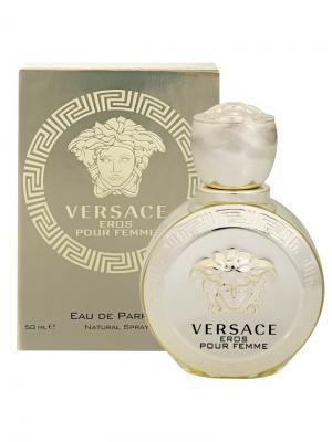 Туалетная вода Eros, 50 мл Versace. Цвет: бежевый, золотистый