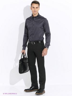 Рубашка Club21. Цвет: темно-серый