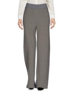 Повседневные брюки SIYU. Цвет: серый