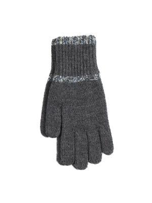 Перчатки Веселый ветер. Цвет: темно-серый