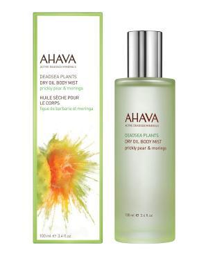 Deadsea Plants Сухое масло для тела опунция и моринга 100 мл AHAVA. Цвет: прозрачный