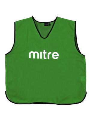 Накидка тренировочная MITRE. Цвет: зеленый