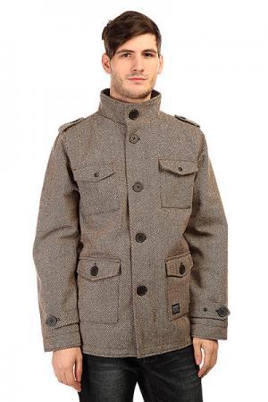 Пальто  Manchester Bhb Krew. Цвет: коричневый,бежевый